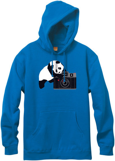 Enjoi Camera Panda Pullover Hoodie - Royal Blue - Men's Sweatshirt