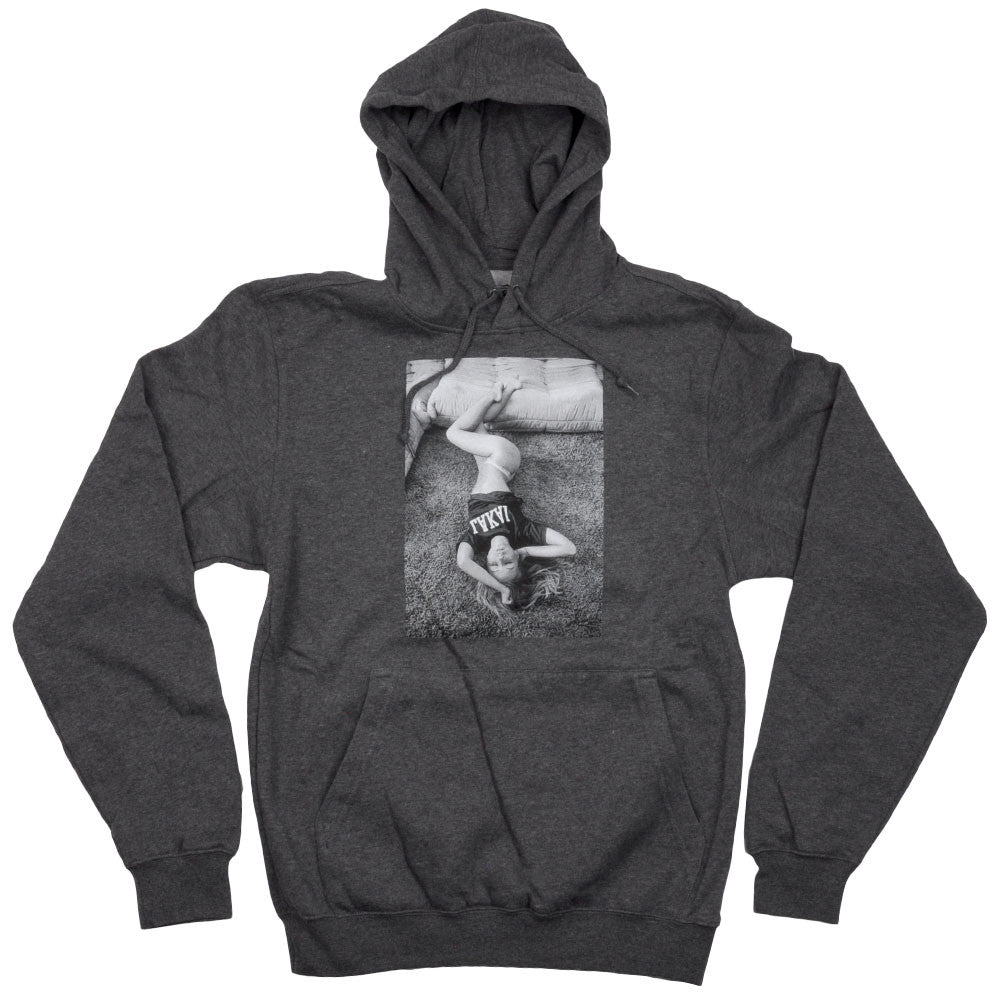 Lakai Cat P/O Hooded - Heather Charcoal - Men's Sweatshirt