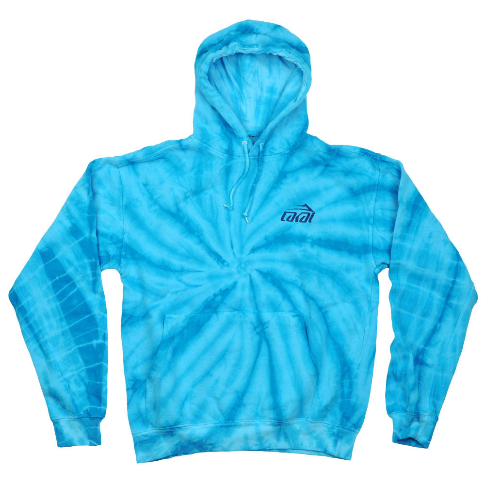 Lakai Psych P/O Hooded - Blue - Men's Sweatshirt