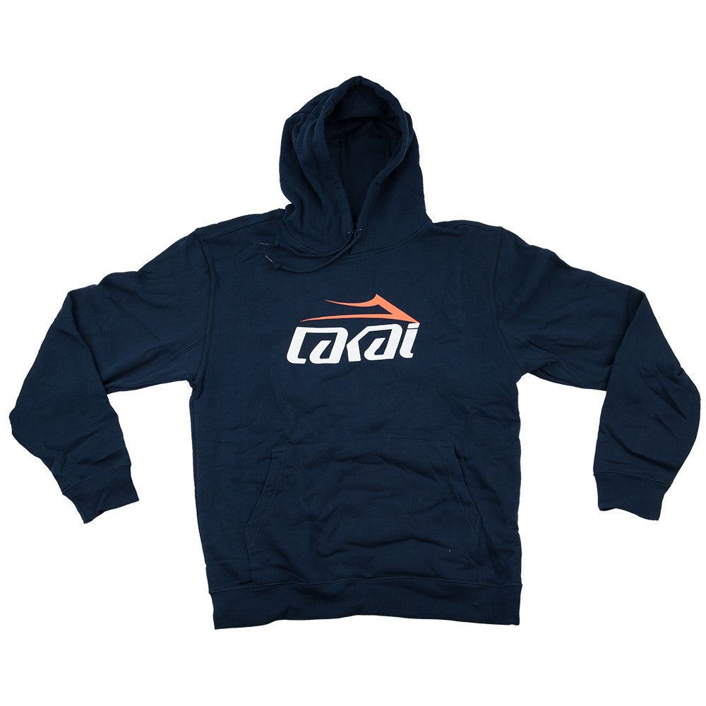 Lakai Tonal P/O Hooded - Navy - Men's Sweatshirt