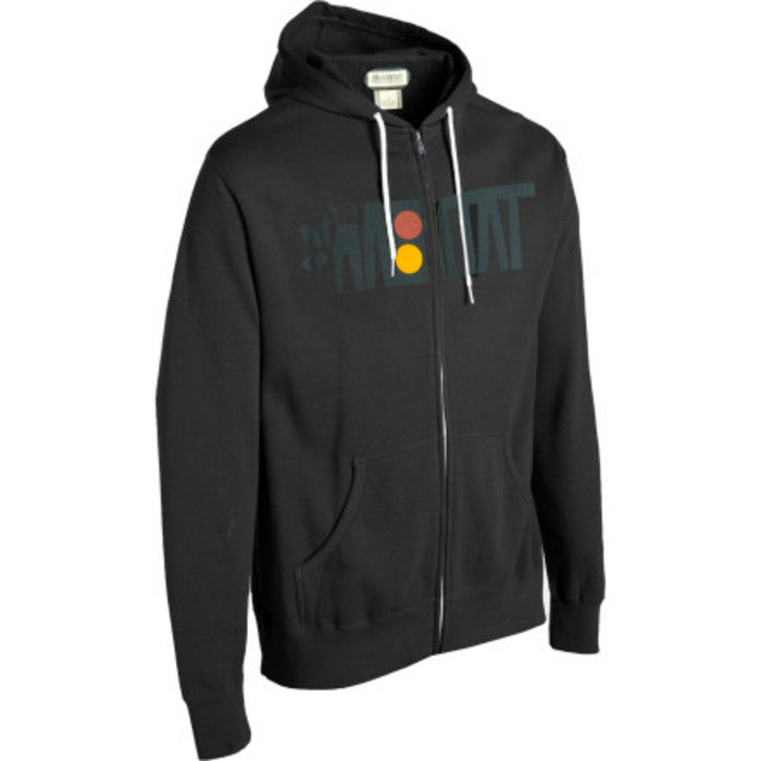 Habitat Artisan Apex Full Zip Hoodie - Black - Men's Sweatshirt