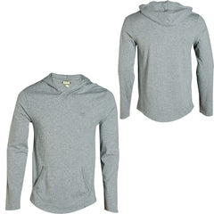 Habitat Aries Hooded Pullover - Grey - Men's Sweatshirt