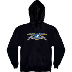 Anti-Hero Eagle Pullover Hoodie - Black - Men's Sweatshirt