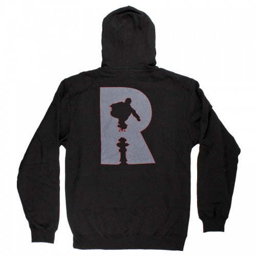 Real Hydrant Hoodie - Black - Men's Sweatshirt