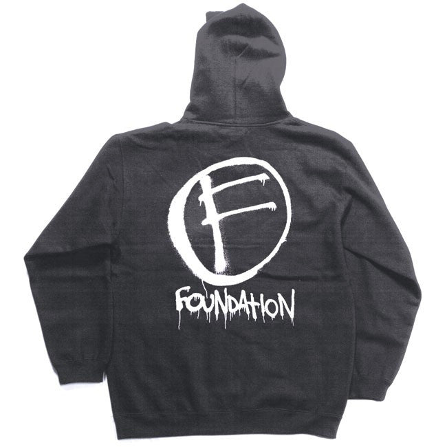 Foundation The Mark Zip - Charcoal - Men's Sweatshirt
