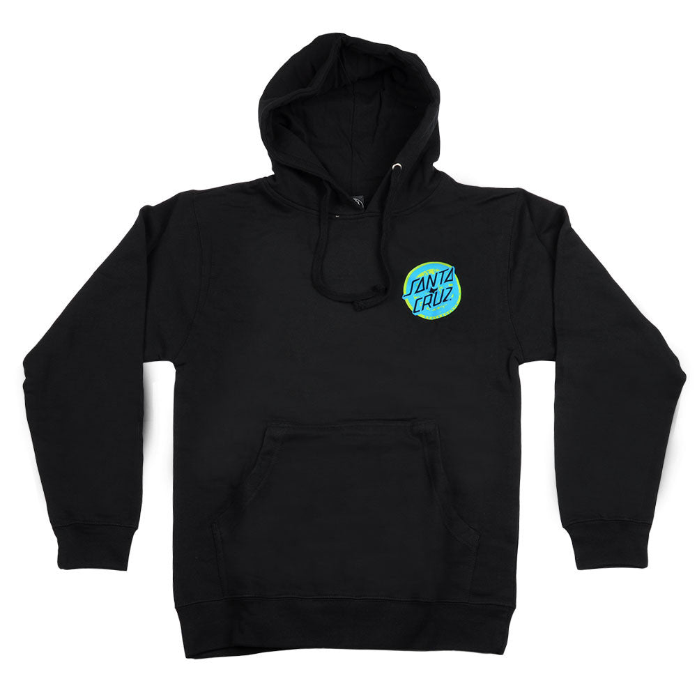 Santa Cruz Rob 2 Pullover Hooded L/S - Black - Men's Sweatshirt