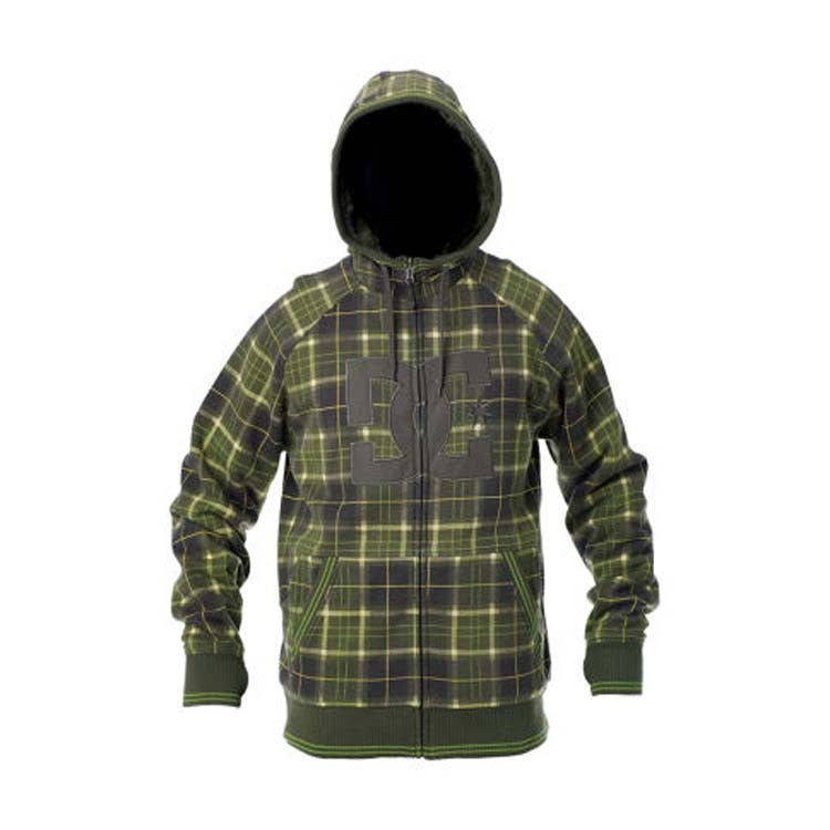 DC Harper - Grunge Plaid - Men's Sweatshirt