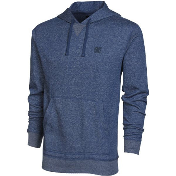 DC Rebel Pullover Hoodie - Dark Denim - Men's Sweatshirt