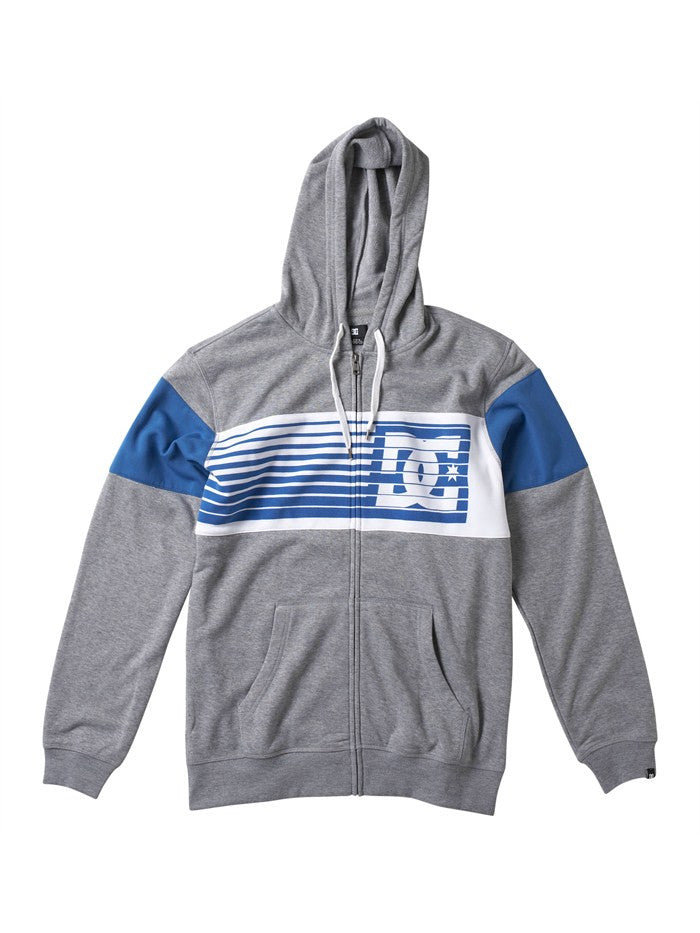 DC Lyman Hoodie - Heather Grey - Men's Sweatshirt