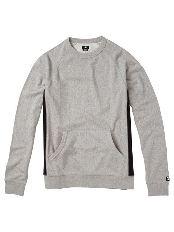 DC Zapp Crew - Heather Grey - Men's Sweatshirt