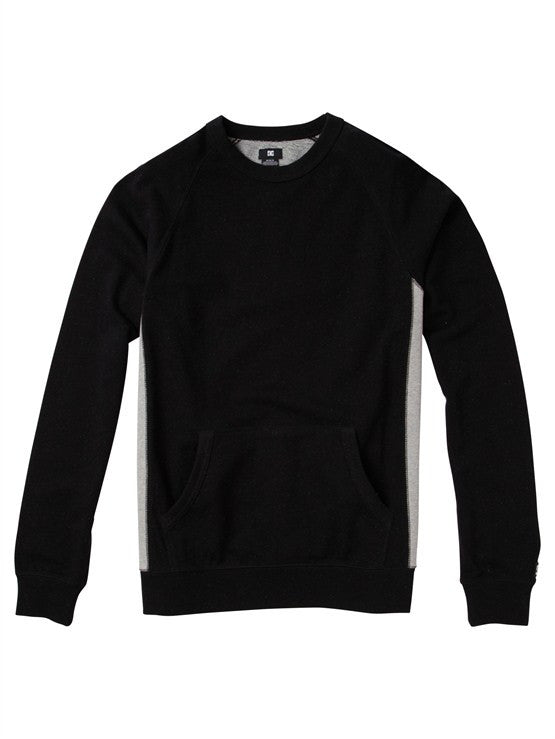 DC Zapp Crew - Black - Men's Sweatshirt