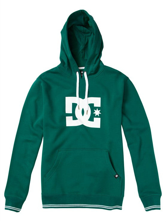 DC All Star Pullover Hoodie - Evergreen - Men's Sweatshirt