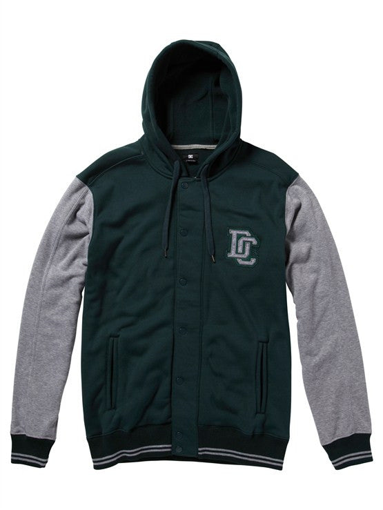 DC Hot Route Fleece Zip Hoodie - Predator - Men's Sweatshirt