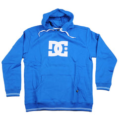 DC All Star P/O Hooded - Royal/White - Men's Sweatshirt