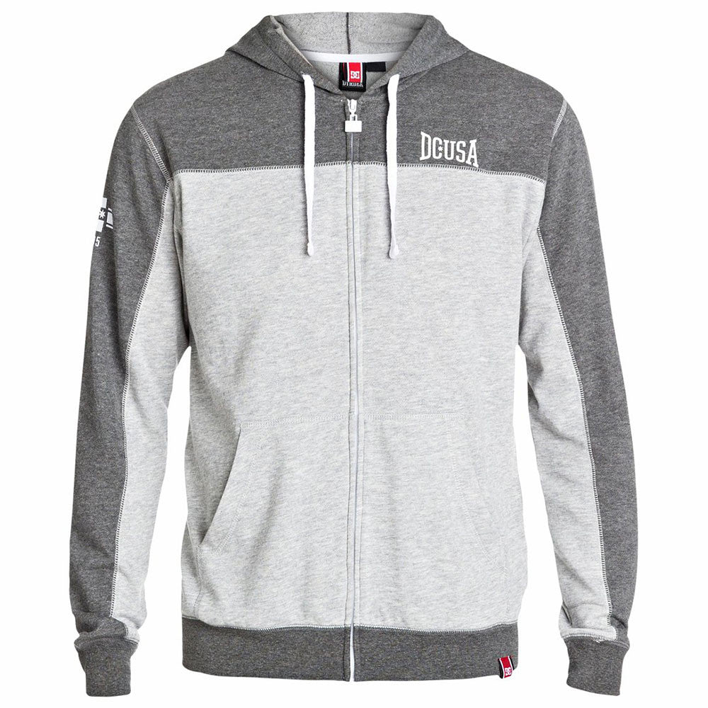 DC Rob Dyrdek Uppercut Zip Up Hooded - Tarmac KTA0 - Men's Sweatshirt