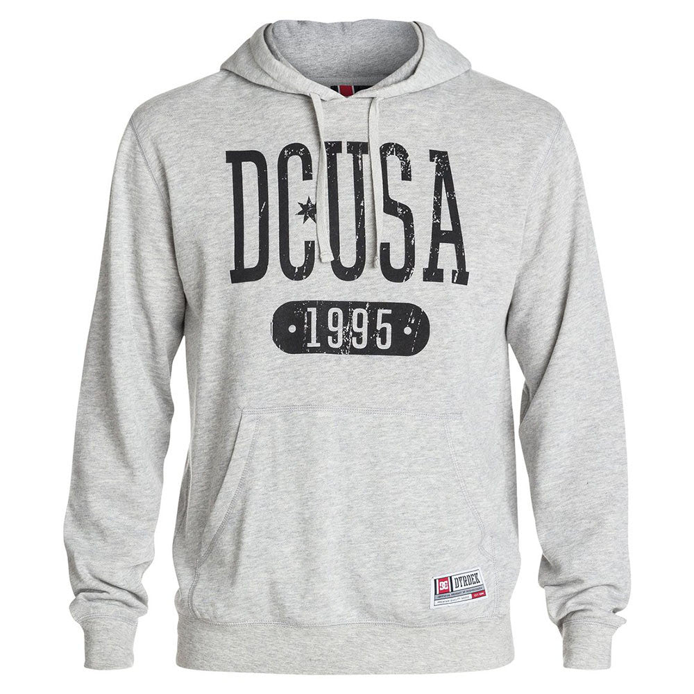 DC Rob Dyrdek Brawler P/O Hooded - Steel Grey KNFH - Men's Sweatshirt