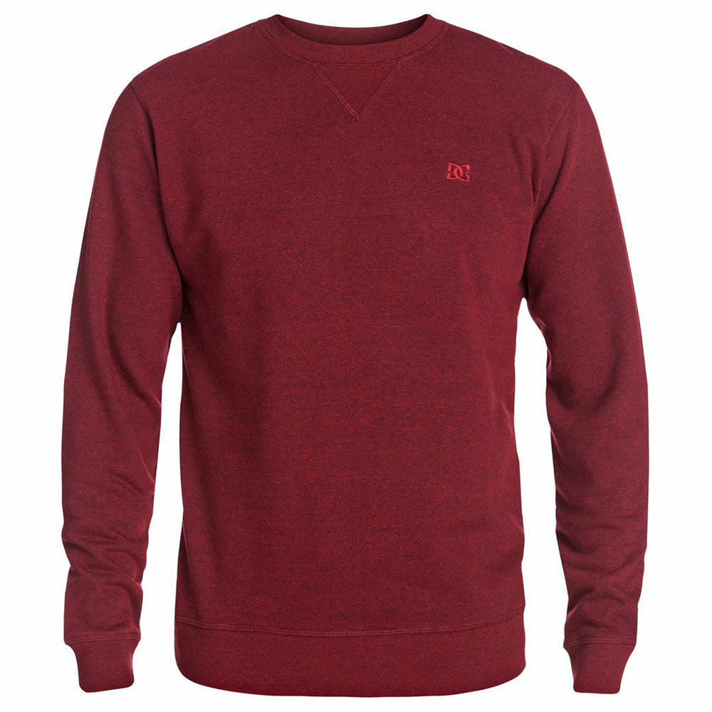 DC Rebel Crew - Jester Red RRL0 - Men's Sweatshirt