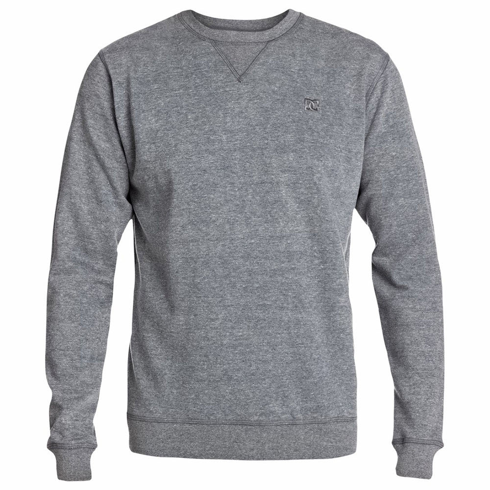 DC Rebel Crew - Grey Violet SFV0 - Men's Sweatshirt