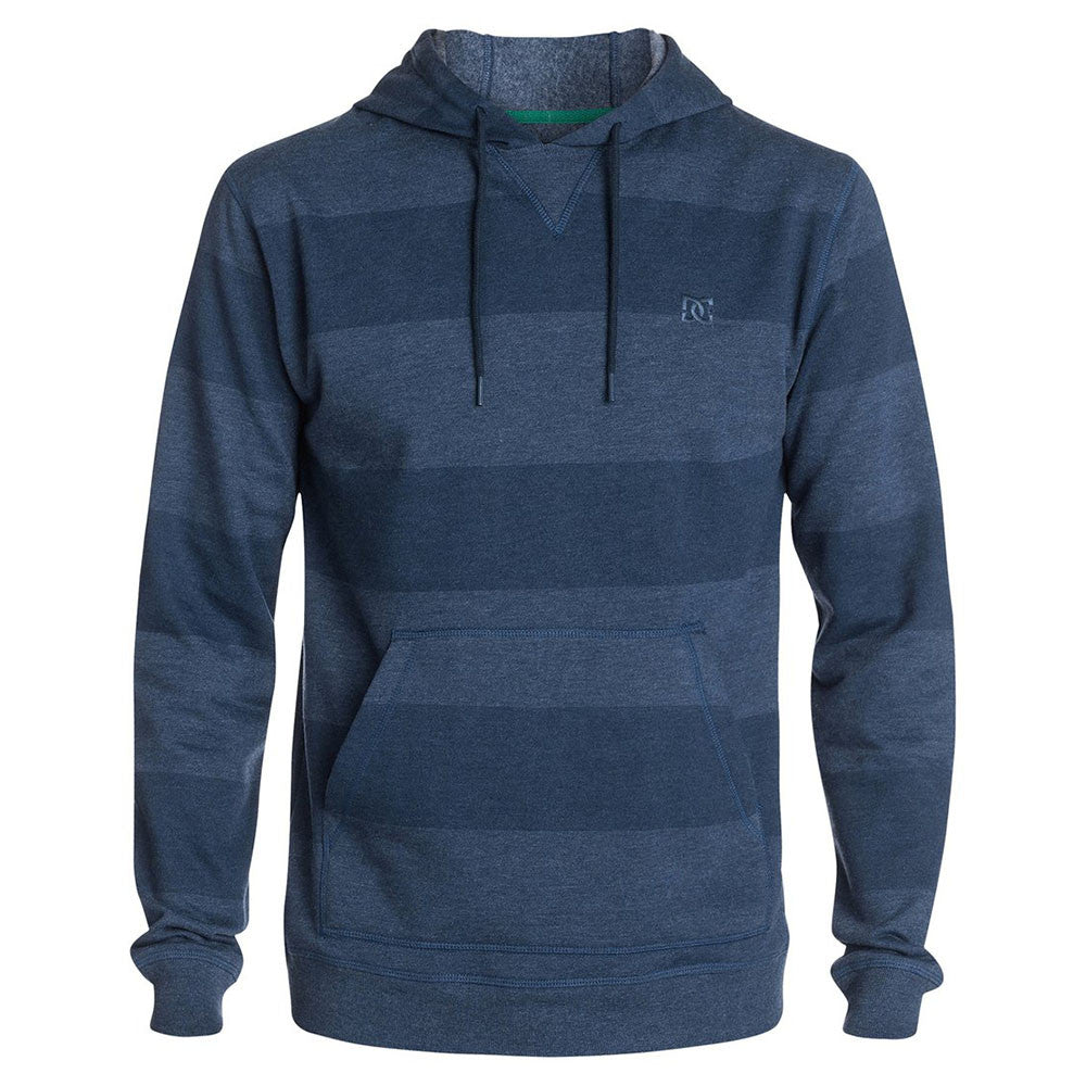 DC Rebel Stripe PH 2 P/O Hooded - Peacoat BTN0 - Men's Sweatshirt