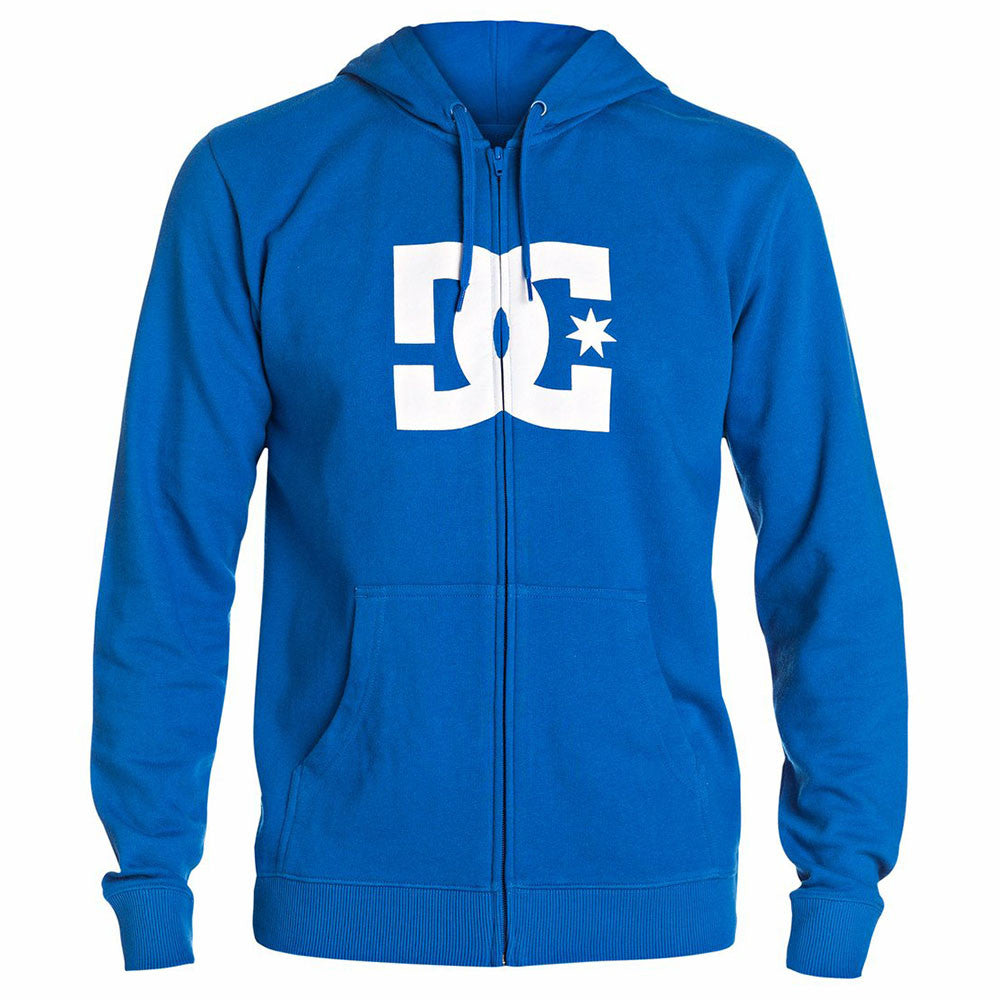DC Star ZH Zip Up Hooded - Snorkel Blue BRT0 - Men's Sweatshirt