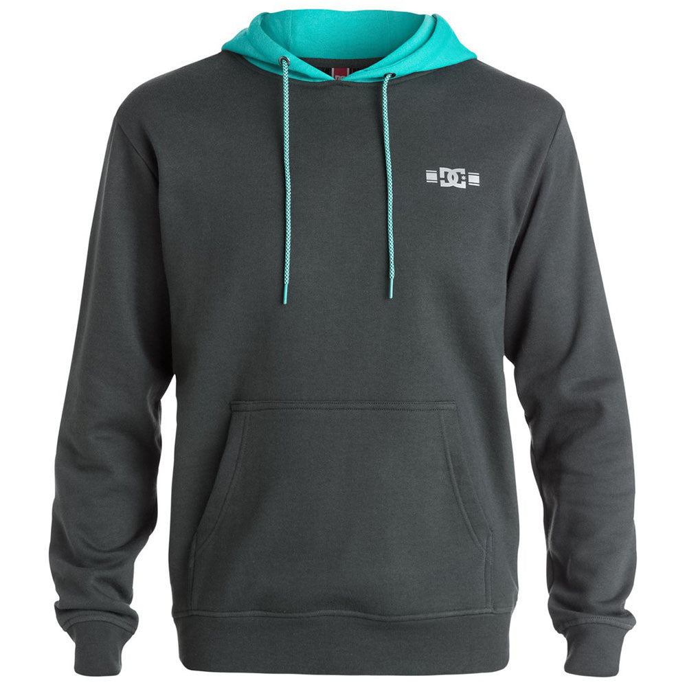 DC RD Trail Hooded Pullover - Dark Shadow KRP0 - Men's Sweatshirt