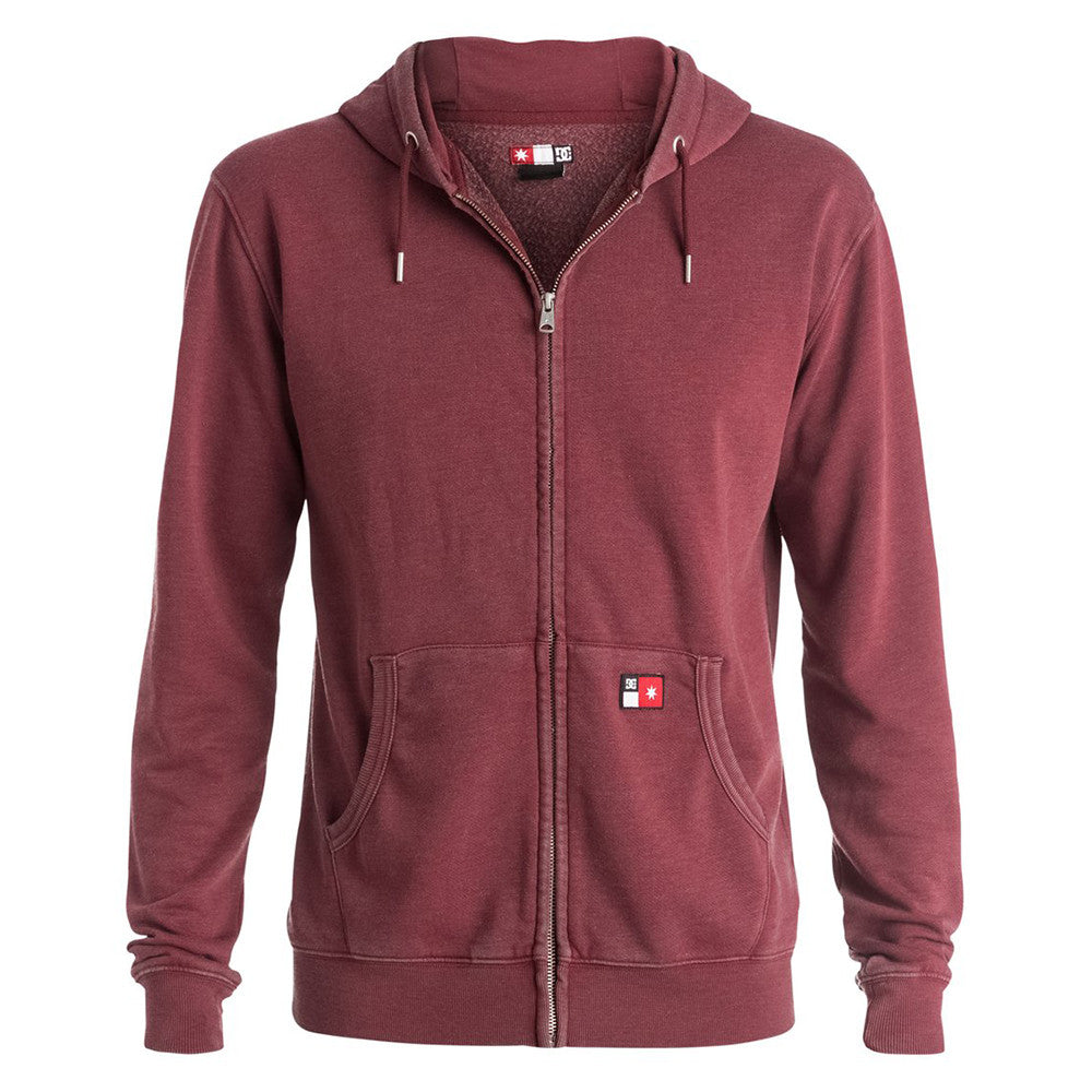 DC Core Zip Up Hooded - Syrah RZD0 - Men's Sweatshirt