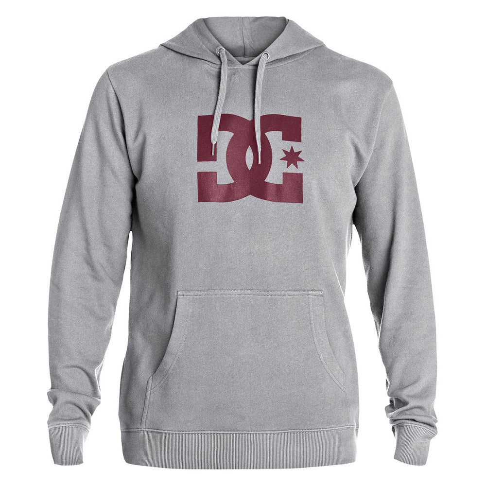 DC Star P/O Hooded - Steel Gray KNFH - Men's Sweatshirt