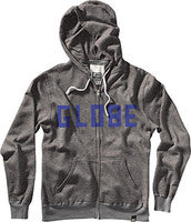 Globe Know Hope Hoodie - Gunmetal/Heather - Men's Sweater