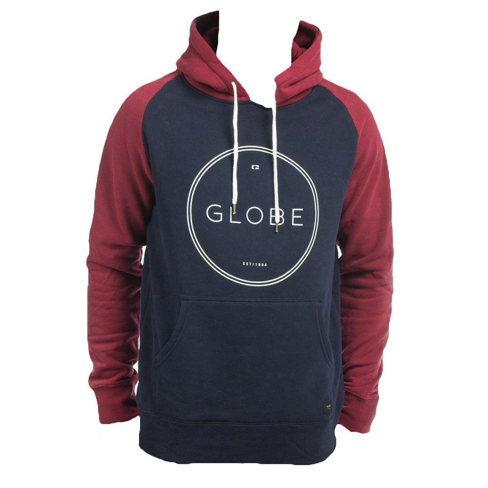 Globe Windsor Hooded Pullover - Navy - Men's Sweatshirt