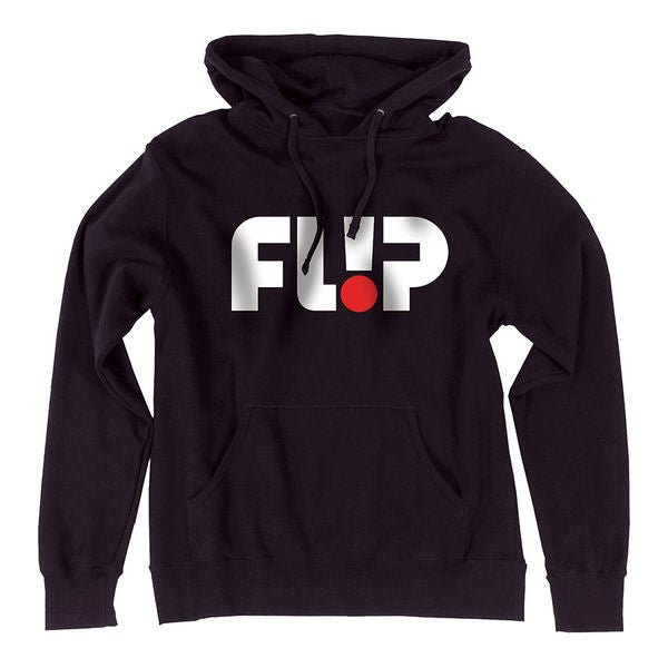 Flip Odyssey Pullover Hooded L/S - Black - Men's Sweatshirt