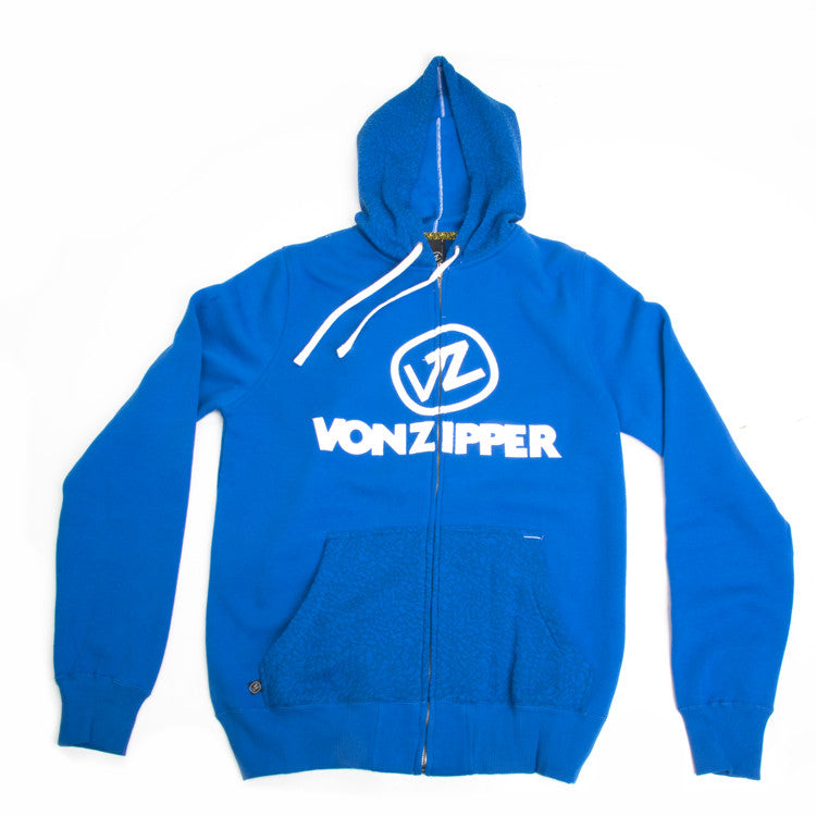 Von Zipper Cement - Royal - Men's Sweatshirt