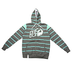 Dragon Level Stripe - Moss - Men's Sweatshirt