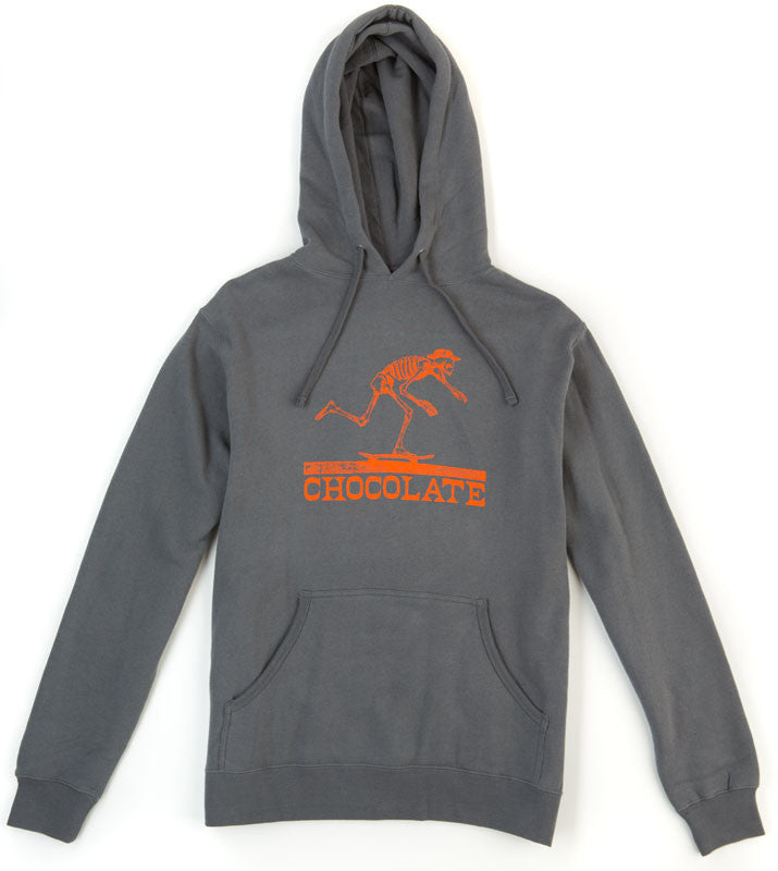 Chocolate El Chocolate Hoodie - Grey - Men's Sweatshirt