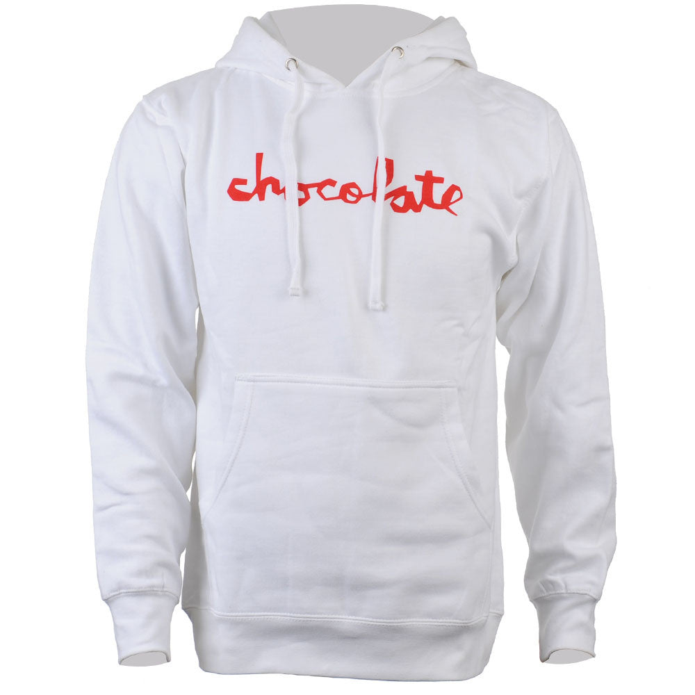 Chocolate Chunk Pullover Hoodie - White - Men's Sweatshirt