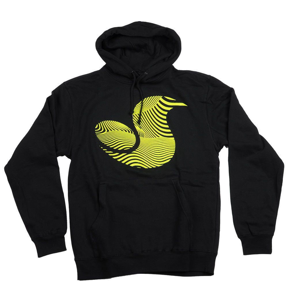 DVS 13th Floor Pull Over - Black/Yellow 001 - Men's Sweatshirt