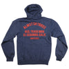 Almost Steel Horse Zip Hood - Navy/Heather - Men's Sweatshirt