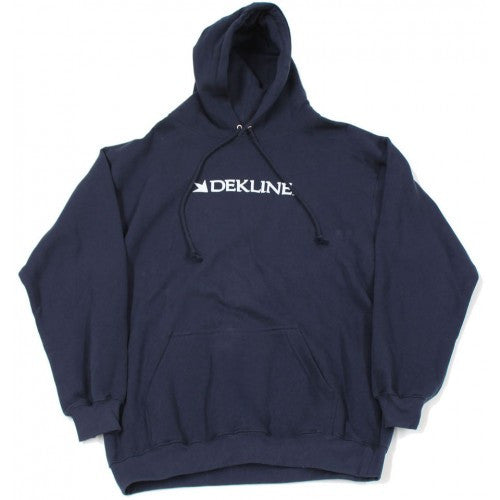 Dekline Bar Hoodie - Navy - Men's Sweatshirt