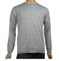 Vans Skulldots - Heather Grey - Women's Sweatshirt
