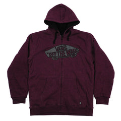 Vans Sherpa - Wine Heather - Men's Sweatshirt