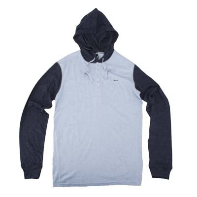 RVCA Wip - Men's Sweatshirt - Blue
