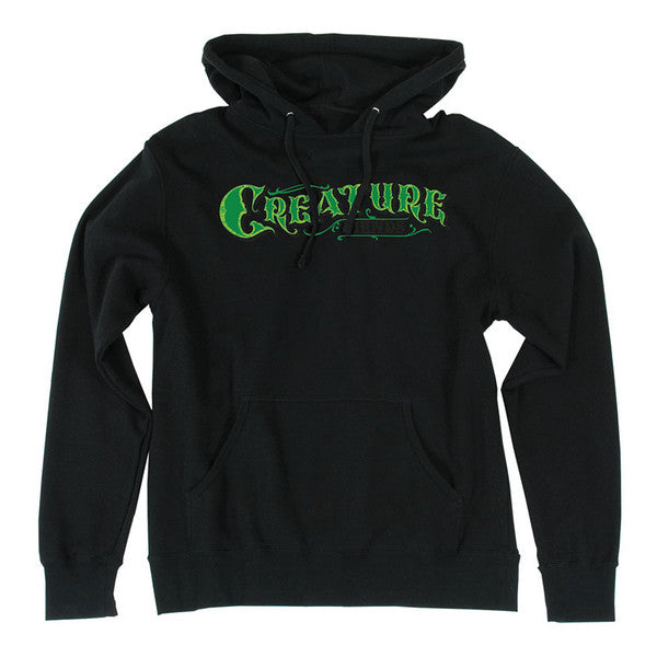 Creature Mirrorz Pullover Hooded L/S - Black - Men's Sweatshirt