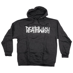 Deathwish Deathspray Hoodie - Charcoal/Heather - Men's Sweatshirt