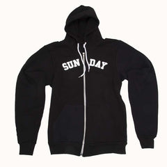 Sunday Collegiate - Black - Men's Sweatshirt