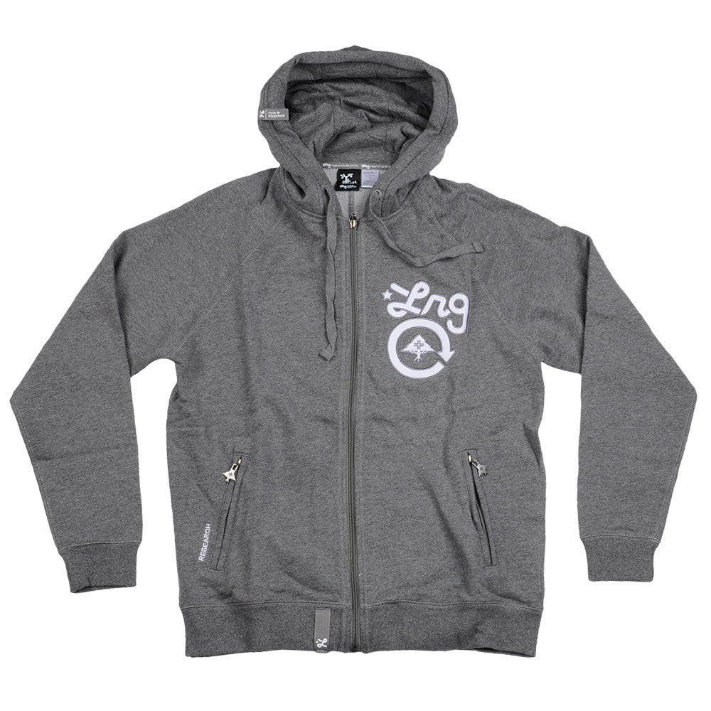 LRG Grass Roots - Charcoal Heather - Men's Sweatshirt