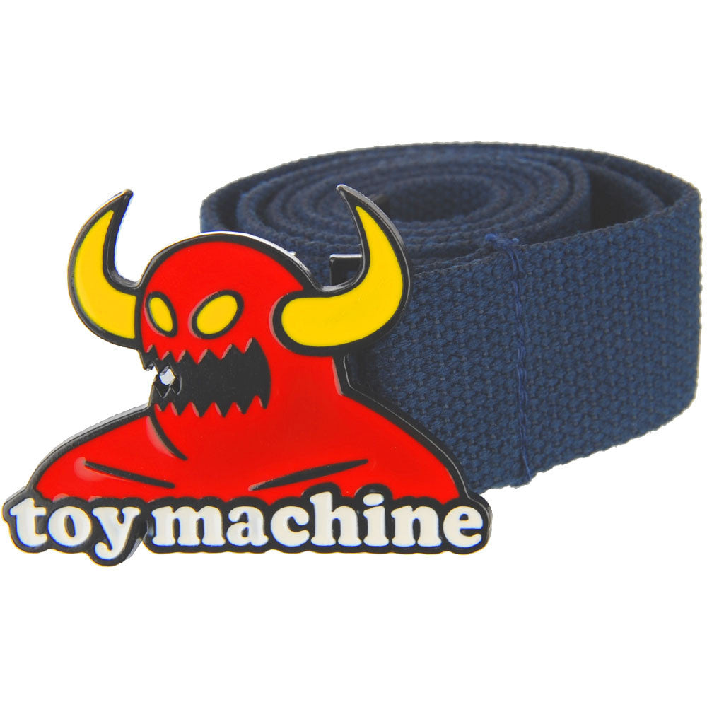 Toy Machine Monster Buckle - Navy - Men's Belt