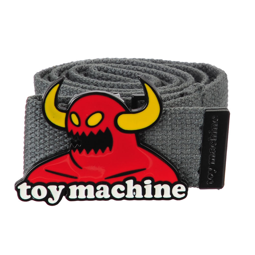 Toy Machine Monster Buckle - Grey - Men's Belt