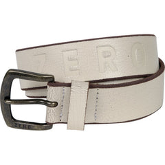 Zero Army - White - Men's Belt