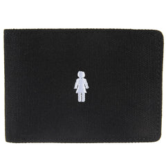 Girl Micro OG Canvas - Black - Men's Wallet