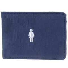 Girl Micro OG Canvas - Navy - Men's Wallet