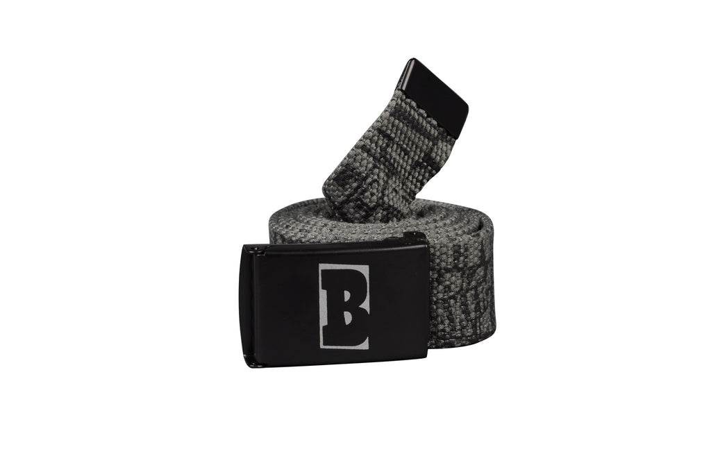 Baker Promo - Grey/Black - Men's Belt